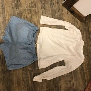 Polo by Ralph Lauren Tops - Polo Ralph Lauren top and shorts